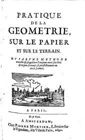 Pratique de la géometrie sur le papier et sur le terrain