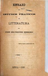 Ensaio de estudos práticos de litteratura