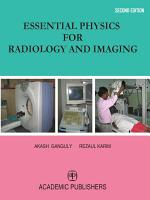 ESSENTIAL PHYSICS FOR RADIOLOGY AND IMAGING
