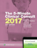The 5 Minute Clinical Consult 2017 PDF