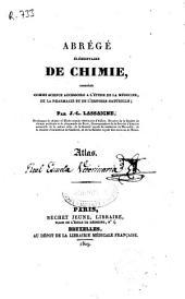 Abrégé élémentaire de chimie...: Atlas