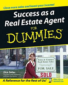 Success as a Real Estate Agent For Dummies Book