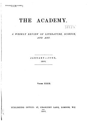The Academy and Literature PDF