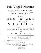 Pub. Virgilii Maronis Georgicorum libri quatuor