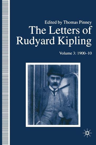 The Letters of Rudyard Kipling PDF