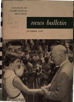 News Bulletin of the Institute of International Education PDF