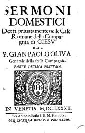 Sermoni Domestici: Detti Privatamente Nelle Case Romane della Compagnia di Giesù, Volume 10