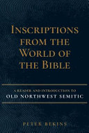 Inscriptions from the World of the Bible