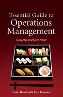 Essential Guide to Operations Management PDF