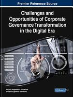 Challenges and Opportunities of Corporate Governance Transformation in the Digital Era PDF