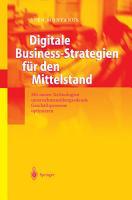 Digitale Business Strategien f  r den Mittelstand PDF