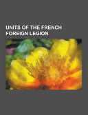 Units of the French Foreign Legion PDF