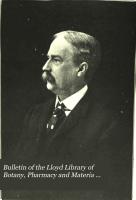Bulletin of the Lloyd Library of Botany  Pharmacy and Materia Medica  no  18  1911 PDF