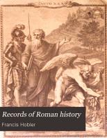 Records of Roman History PDF