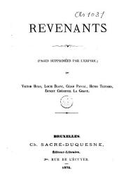 Revenants (Pages supprimées par l'Empire).