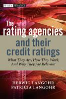 The Rating Agencies and Their Credit Ratings PDF