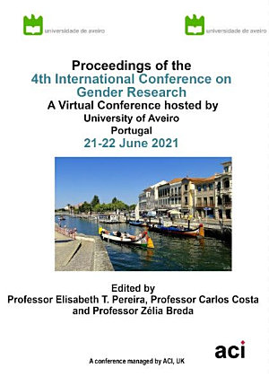 ICGR 2021 4th International Conference on Gender Research PDF