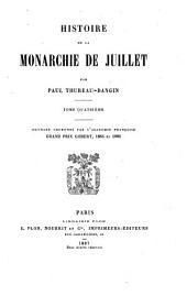 Histoire de la monarchie de juillet: Volume4