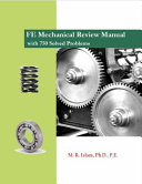 FE Mechanical Review Manual with 750 Solved Problems Book