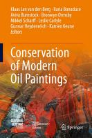 Conservation of Modern Oil Paintings PDF