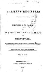 Farmers' register: Volume 10