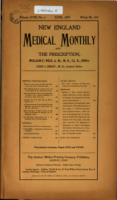 New England Medical Monthly: Volume 18, Issue 6