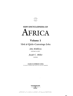 New Encyclopedia of Africa PDF