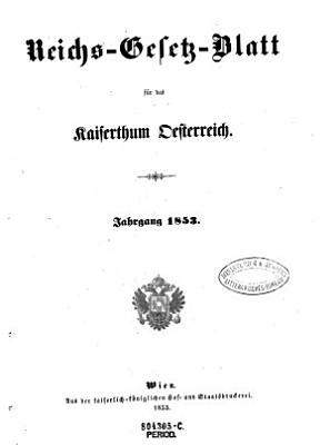 Reichsgesetzblatt f  r die im Reichsrate vertretenen K  nigreiche und L  nder PDF
