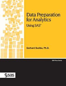 Data Preparation for Analytics Using SAS PDF