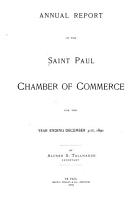 Annual Report of the St  Paul Chamber of Commerce PDF
