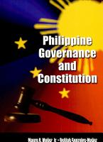 Philippine Governance and Constitution PDF