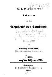 C. F. D. Schubart's Ideen zu einer Aesthetik der Tonkunst