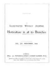 The Garden: An Illustrated Weekly Journal of Gardening in All Its Branches, Volume 61