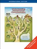 Understanding Interpersonal Communication PDF