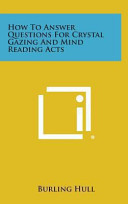 How to Answer Questions for Crystal Gazing and Mind Reading Acts PDF