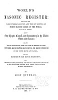 World S Masonic Register