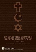 Onomastics between Sacred and Profane