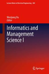 Informatics and Management Science I