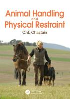Animal Handling and Physical Restraint PDF