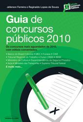 Guia de concurso públicos 2010