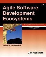 Agile Software Development Ecosystems PDF