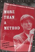 More Than a Method PDF