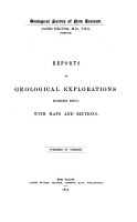 Reports of Geological Explorations During     PDF