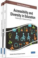Accessibility and Diversity in Education  Breakthroughs in Research and Practice PDF