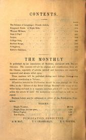 Beloit College Monthly: Volume 10