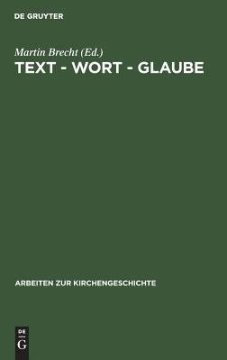 Text  Wort  Glaube