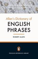 Allen s Dictionary of English Phrases PDF