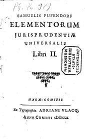 Elementorum Iurisprudentiae Universalis libri duo