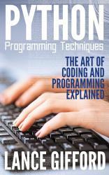 Python Programming Techniques Book PDF