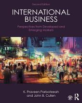 International Business: Perspectives from developed and emerging markets, Edition 2